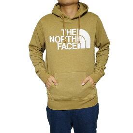ノースフェイス メンズ パーカー ブリティッシュカーキ ハーフドーム プルオーバー The North Face Men's Half Dome Hoodie Pullover British Khaki Heather
