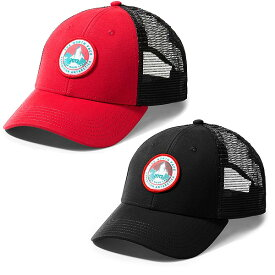 ノースフェイス メンズ 帽子 限定モデル メッシュキャップ エクスペディション マダー トラッカーハット キャップ ブラック レッド THE NORTH FACE Mudder Trucker Hat
