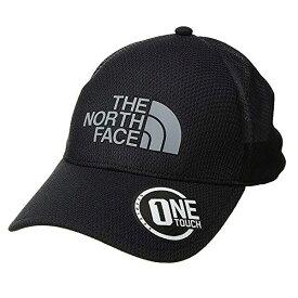 ノースフェイス 帽子 キャップ TNF ワン タッチ ライト ボール キャップ The North Face TNF ONE TOUCH Ball Cap Tnf Black Mid Grey