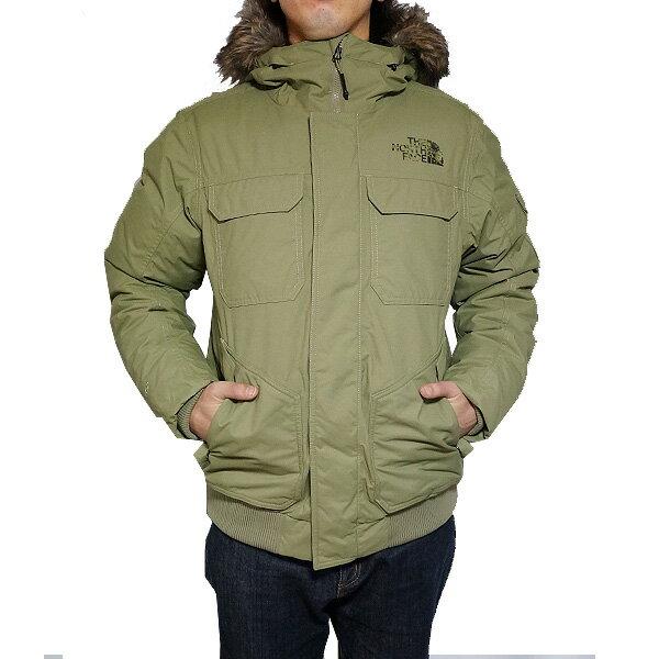 ノースフェイス メンズ ダウンジャケット ゴッサム フーデッド 3 ダウン ジャケット The North Face Men's Gotham Hooded III Down Jacket Tumbleweed Green/New Taupe Green Macrofleck Print