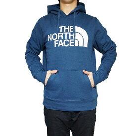 ノースフェイス メンズ パーカー ハーフドーム プルオーバー The North Face Men's Half Dome Hoodie Pullover Blue Wing Teal/Tnf White