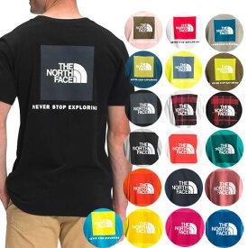 ノースフェイス Tシャツ メンズ S-XXL バックプリント レッドボックス 半袖Tシャツ 大きいサイズ 海外限定 The North Face Men's Short Sleeve Red Box Tee 送料無料 父の日
