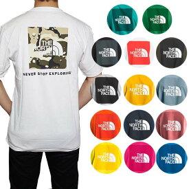 ノースフェイス Tシャツ メンズ バックプリント レッドボックス 半袖Tシャツ 大きいサイズ 海外限定 The North Face Men's Short Sleeve Red Box Tee