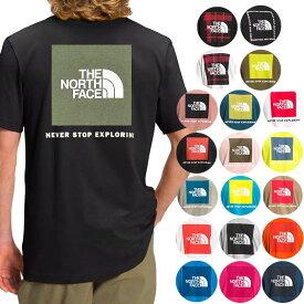 ノースフェイス Tシャツ メンズ S-XXL バックプリント レッドボックス 半袖Tシャツ 大きいサイズ 海外限定 The North Face Men's Short Sleeve Red Box Tee 送料無料