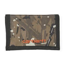 カーハート WIP 財布 ウォレット メンズ ペイトン ワークインプログレス Carhartt WIP Men's Payton Wallet CamoCombi SafetyOrange