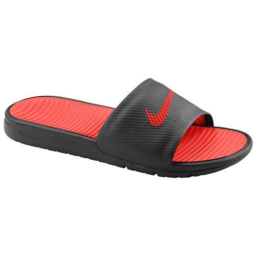 (取寄)NIKE ナイキ サンダル メンズ ベナッシ ソーラーソフト スライド レッド 赤 Nike Men's Benassi Solarsoft Slide Black Sport Red 【コンビニ受取対応商品】