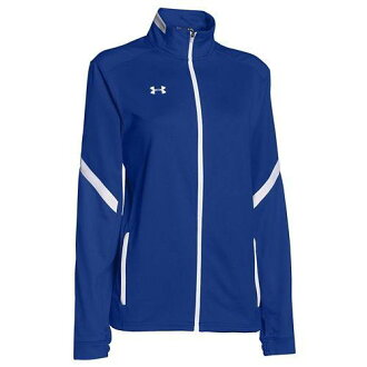 (order) under Armour Lady's team Qualifier warm-up jacket UNDER ARMOUR Women's Team Qualifier Warm Up Jacket Team Royal White