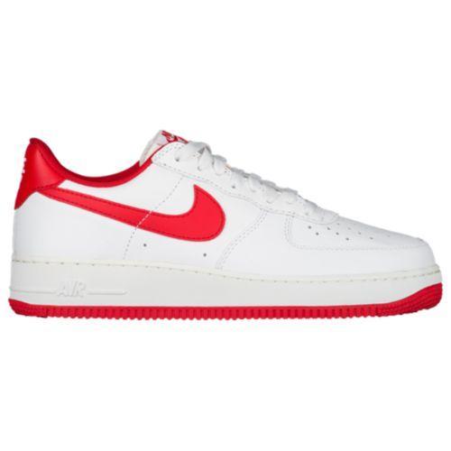 (取寄)NIKE ナイキ メンズ エアフォース 1 ロー レトロ スニーカー Nike Men's Air Force 1 Low Retro Summit White University Red