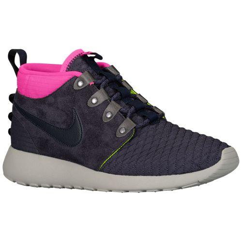 (取寄)ナイキ メンズ ローシ ワン ミッド ウィンター Nike Men's Roshe One Mid Winter Gridiron Pink Foil Volt Dark Obsidian