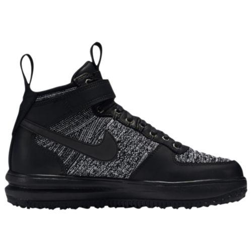 (取寄)ナイキ レディース LF1 フライニット ワークブーツ Nike Women's LF1 Flyknit Workboots Black Black White Cool Grey