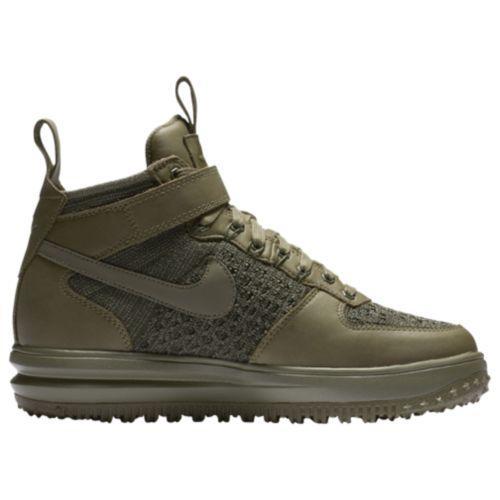 (取寄)Nike ナイキ レディース LF1 フライニット ワークブーツ Nike Women's LF1 Flyknit Workboots Medium Olive Medium Olive Neutral Olive