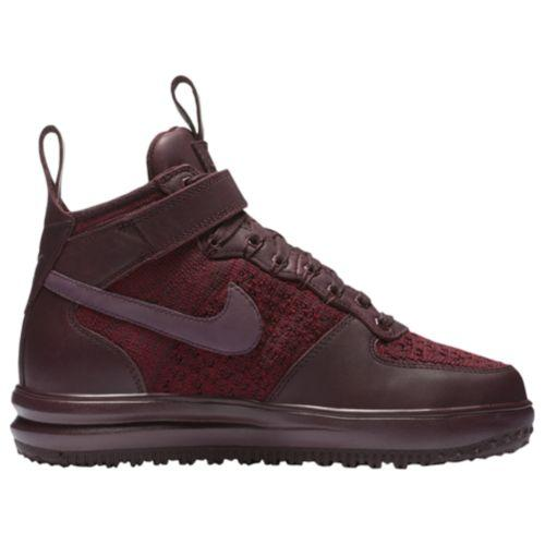 (取寄)ナイキ レディース LF1 フライニット ワークブーツ Nike Women's LF1 Flyknit Workboots Deep Burgundy Deep Burgundy Team Red Purple