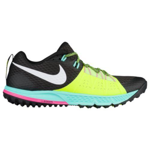 (取寄)Nike ナイキ メンズ ズーム ワイルドホース 4 ランニングシューズ スニーカー Nike Men's Zoom Wildhorse 4 Black White Volt Hyper Orange