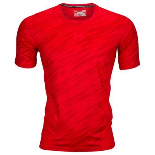(取寄)アンダーアーマー メンズ ヒートギア スーパーベント 2.0 Tシャツ Under Armour Men's HeatGear Supervent 2.0 T-Shirt Red Neon Coral