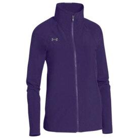(取寄)アンダーアーマー レディース チーム スクウォッド ウーブン ウォーム アップ ジャケット Under Armour Women's Team Squad Woven Warm Up Jacket Purple Steel