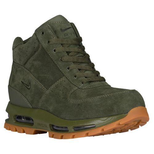 (取寄)Nike ナイキ メンズ エア マックス ゴアドーム ブーツ Nike Men's Air Max Goadome Army Olive Gum Med Brown Army Olive