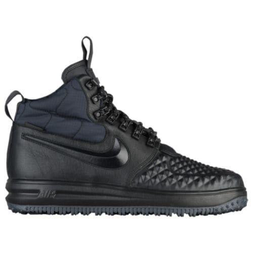 (取寄)Nike ナイキ メンズ ルナ フォース 1 ダックブーツ Nike Men's Lunar Force 1 Duckboots Black Black Anthracite