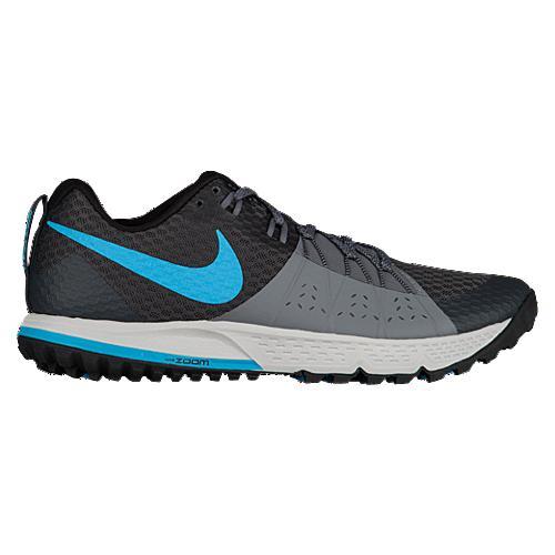 (取寄)Nike ナイキ メンズ ズーム ワイルドホース 4 ランニングシューズ スニーカー Nike Men's Zoom Wildhorse 4 Anthracite Blue Fury Cool Grey