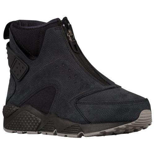 (取寄)ナイキ レディース エア ハラチ ラン ミッド Nike Women's Air Huarache Run Mid Black Black Dust