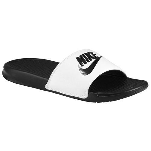 NIKE ナイキ ベナッシ メンズ サンダル JDI 白 黒 Nike Men's Benassi JDI Slide White Black