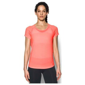 アンダーアーマー レディース フライ バイ ショート スリーブ Tシャツ Under Armour Women's Fly By Short Sleeve T-Shirt Cape Coral Cape Coral Reflective