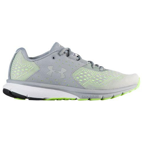 (取寄)アンダーアーマー レディース チャージド レベル Under Armour Women's Charged Rebel Steel Quirky Lime Metallic Silver