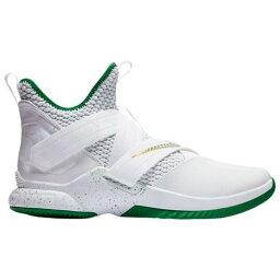 (索取)耐吉人露華濃軍人12露華濃詹姆斯Nike Mens LeBron Soldier XII Lebron James White Multi