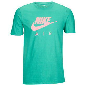 (order) Nike men graphic T-shirt Nikewear Men's Graphic T-Shirt Kinetic Green Pink