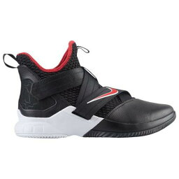 (索取)耐吉人露華濃軍人12露華濃詹姆斯Nike Mens LeBron Soldier XII Lebron James Black University Red White