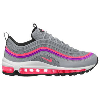 b4d6741b4e (order) Nike Lady's Air Max 97 sneakers Nike Women's Air Max 97 Wolf Grey  Solar Red Vivid Purple Black