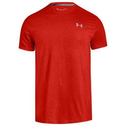 (取寄)アンダーアーマー メンズ ヒートギア ストライカー ショート スリーブ Tシャツ Underarmour Men's HeatGear Streaker Short Sleeve T-Shirt Radio Red Radio Red Reflection
