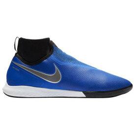 (取寄)ナイキ メンズ ファントム ビジョンX プロ DF ic Nike Men's Phantom VisionX Pro DF IC Racer Blue Black Metallic Silver Volt
