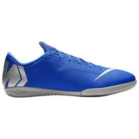 (取寄)ナイキ メンズ マーキュリアル ヴェイパー X 12 アカデミー ic Nike Men's Mercurial VaporX 12 Academy IC Racer Blue Metallic Silver Black