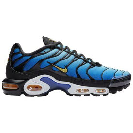 (取寄)ナイキ メンズ エア マックス プラス Nike Men's Air Max Plus Black Chamois Sky Blue Hyper Blue