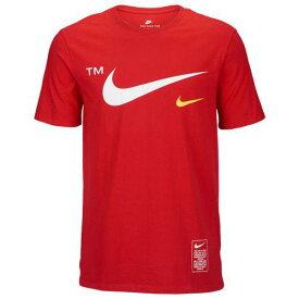 (取寄)ナイキ メンズ マイクロブランド ショート スリーブ Tシャツ Nike Men's Microbrand Short Sleeve T-Shirt University Red