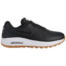 (取寄)ナイキ メンズ エア マックス 1 G ゴルフ シューズ Nike Men's Air Max 1 G Golf Shoes Black Gum Light Brown