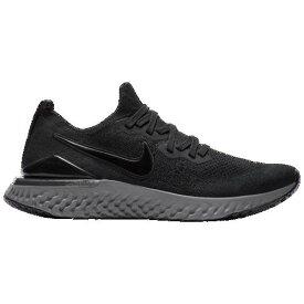 (取寄)ナイキ メンズ エピック リアクト フライニット 2 Nike Men's Epic React Flyknit 2 Black Black Anthracite Gunsmoke