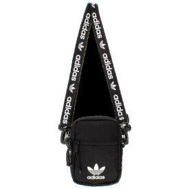 (取寄)アディダス オリジナルス ショルダーバッグ ストラップ フェスティバル ミニバッグ adidas Originals Shoulder Strap Festival Bag Black White