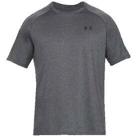(取寄)アンダーアーマー メンズ テック 2.0 ショート スリーブ Tシャツ Underarmour Men's Tech 2.0 Short Sleeve T-Shirt Carbon Heather Black