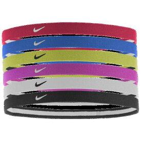 (取寄)ナイキ レディース スウッシュ スポーツ ヘッドバンド 2.0 Nike Women's Swoosh Sport Headbands 2.0 Sold as a Set of 6