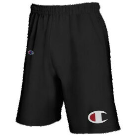 (取寄)チャンピオン メンズ ビッグ アンド トール ビッグ C ジャージー ショーツ Champion Men's Big And Tall Big C Jersey Shorts Black