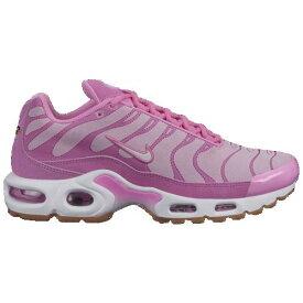 【クーポンで最大2000円OFF】(取寄)ナイキ レディース エア マックス プラス プレミアム Nike Men's Air Max Plus Premium Psychic Pink White Pink Foam Gum Light Brown