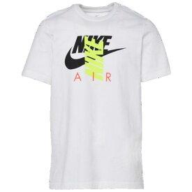 (取寄)ナイキ メンズ シティ ブライト エア Tシャツ Nike Men's City Brights Air T-Shirt White Volt