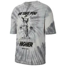 (取寄)ナイキ メンズ タイダイ オーバーサイズド Tシャツ Nike Men's Tye-Dye Oversized T-Shirt Dark Grey