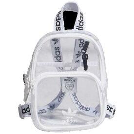 (取寄)アディダス オリジナルス クリア ミニ バックパック adidas Originals Clear Mini Backpack White