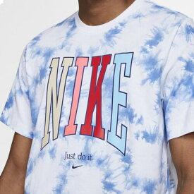 (取寄)ナイキ メンズ アメリカーナ タイダイ Tシャツ Nike Men's Americana Tie-Dye T-Shirt White Pacific Blue