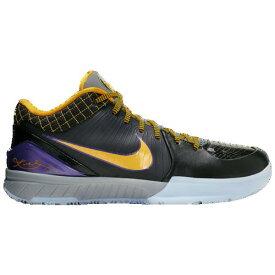 (取寄)ナイキ メンズ コービー 4 プロトロ Nike Men's Kobe IV Protro Black Del Sol Varsity Purple