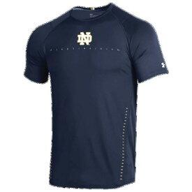 (取寄)アンダーアーマー メンズ カレッジ レイド Tシャツ Underarmour Men's College Raid T-Shirt Navy