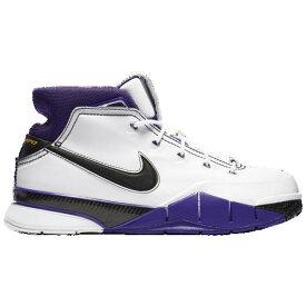 【クーポンで最大2000円OFF】(取寄)ナイキ メンズ コービー 1 プロトロ Nike Men's Kobe 1 Protro White Black Court Purple