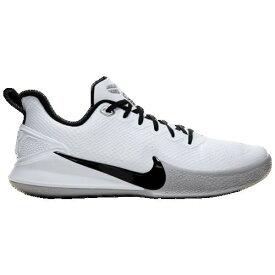【クーポンで最大2000円OFF】(取寄)ナイキ メンズ マンバ フォーカス Nike Men's Mamba Focus White Black Wolf Grey Metallic Silver